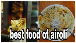 Airoli Food Vlog   Airoli Best Food   Cycling