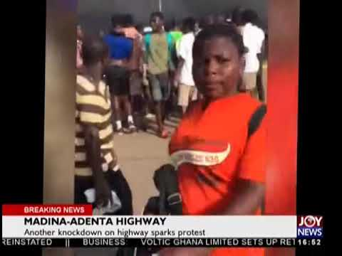 Madina-Adenta Highway - The Pulse on JoyNews (8-11-18)