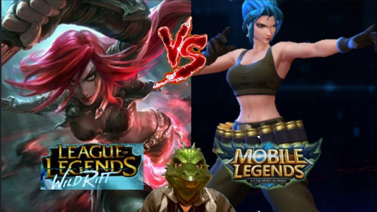 Wild Rift League of Legends Katarina ...