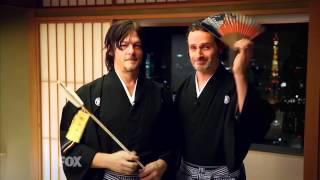 【FOX】【ウォーキング・デッド】アンドリューとノーマンが和服で・・・