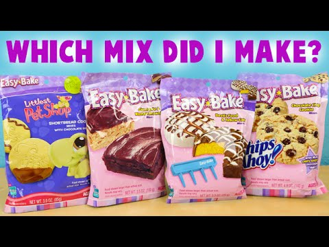 Easy Bake Oven 2006 Which Baking Mix Did I Make With Taste Test Youtube