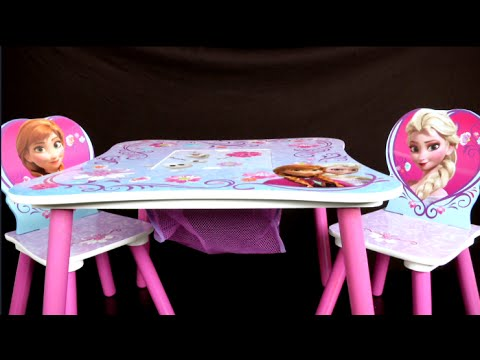 Disney Frozen Table And Chair Set From Delta Children S