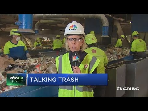 Republic Services CEO says recycling has become a 'broken' system