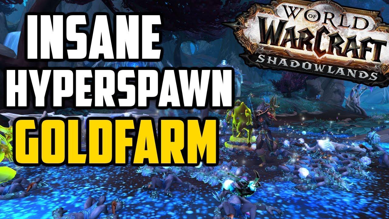 100k+ Gold per Hour Cloth & BoE Farm! Hyperspawn Farm in Shadowlands