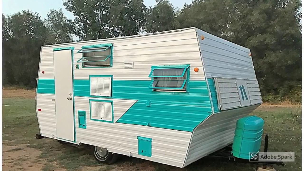 1965 nomad 16 39 vintage travel trailer youtube. Black Bedroom Furniture Sets. Home Design Ideas