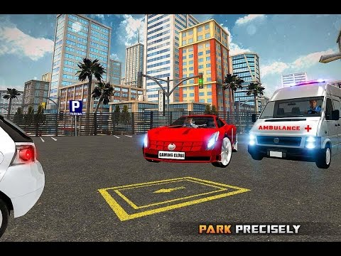 Futuristic Car Parking 3D Sim (By Gaming Globe Inc.) Android Gameplay HD