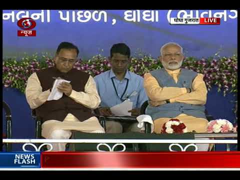 PM in Gujarat:  Cattle Feed Plant inaugurated