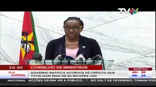 Governo ratifica acordos de crédito que totalizam mais de 60 milhões USD