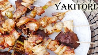 Yakitori-japanese Grilled Chicken (recipe) 焼き鳥を作りました