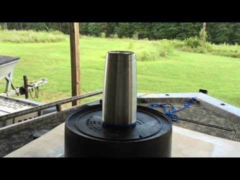 How To: Paint Bottomland Camo On Ozark Trail Tumbler