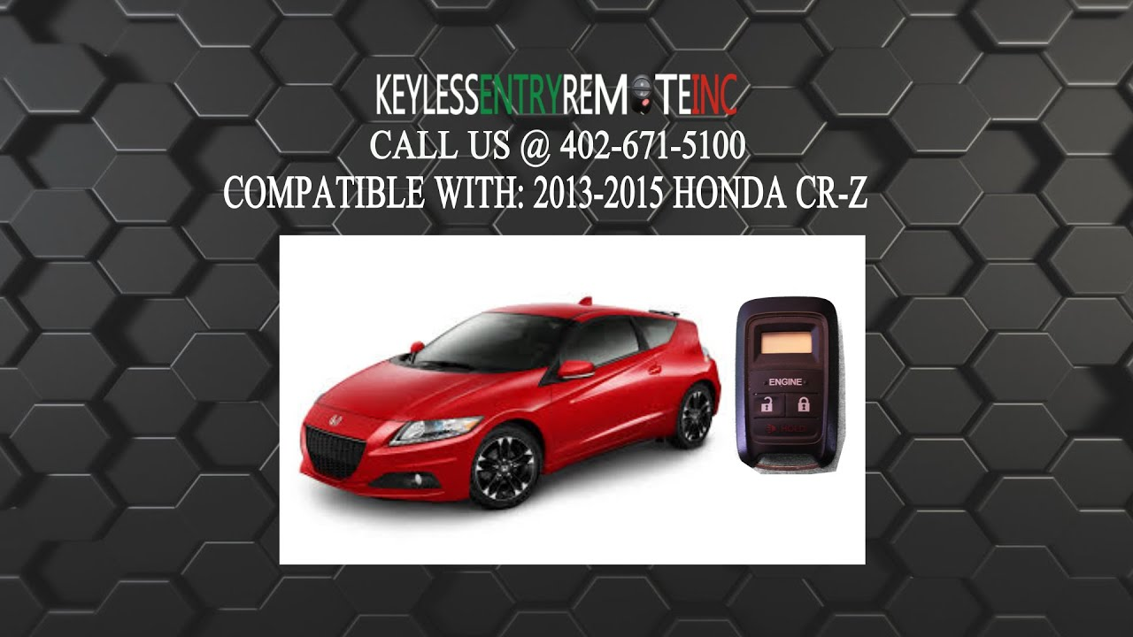 How To Replace Honda Cr Z Key Fob Battery 2013 2014 2015