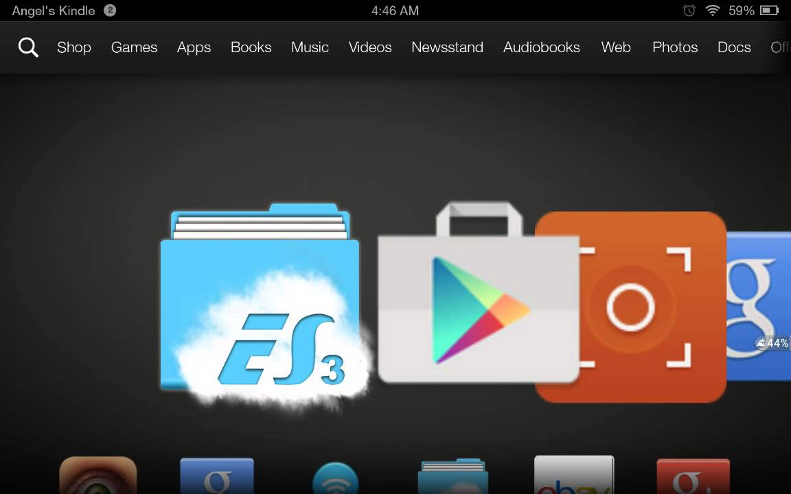 Kindle Play Store