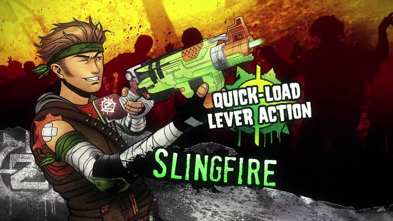 Strike 2014 Zombie Nerf