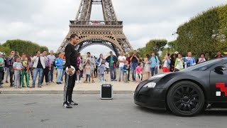 Bugatti Veyron vs Touzani Around The Eiffel Tower
