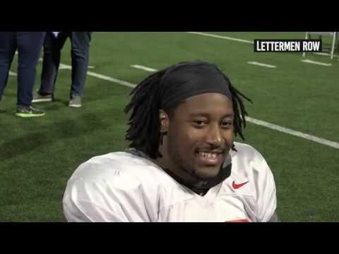 Davon Hamilton: Ohio State defensive tackle previews Northwestern