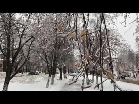 """""""Ледяной дождь"""" в Шахунье"""