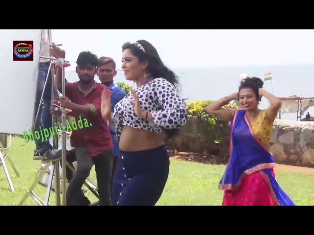 Shubhi Sharma New HOT Song 2019 Making video Deepak Singh