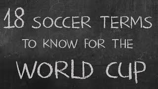 The Best Soccer (football) Terms