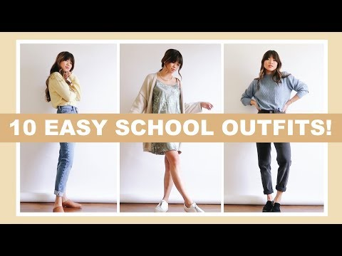 10 EASY BACK TO SCHOOL OUTFITS