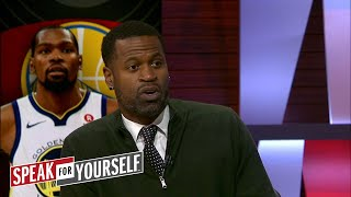 Stephen Jackson on Lonzo's 15 pts, 10 ast vs the Warriors, OKC's rough start | SPEAK FOR YOURSELF