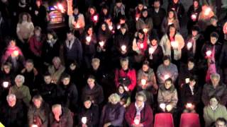 Fiaccolata in ricordo delle vittime delle mafie - Verbania, 21 marzo 2012