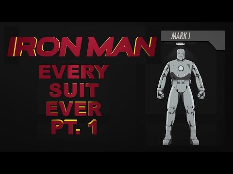 Mark I,  Classic, War Machine - Every Suit Ever Part 1