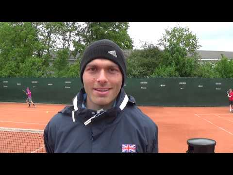 GB tennis star Ross Hutchins tells us what tennis means to him