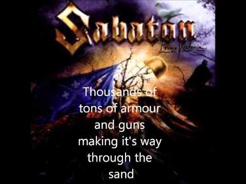 Sabaton Panzer Battalion + lyrics