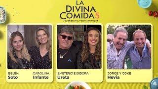 La Divina Comida - Jorge y Coke Hevia, Tita y Emeterio Ureta, Carolina Infante y Belén Soto