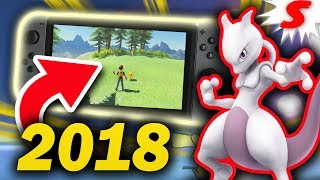 Why Pokemon Switch WILL RELEASE in 2018! New Pokemon Game Speculation
