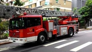 台北市消防車歸隊 Taipei City Fire Engine Returning