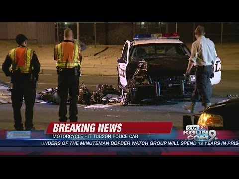Deadly Motorcycle Crash Involving Tucson Police Vehicle