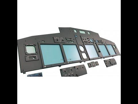 737 Home Sim Build - Cockpit Sim Parts MIP Overview