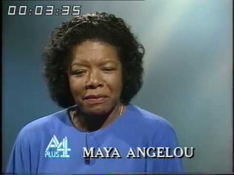 Maya Angelou | Civil Rights | A Plus 4 | 1985