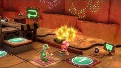Super Mario Party Partner Party #870 Gold Rush Mine Hammer Bro & Bowser vs Goomba & Shy Guy