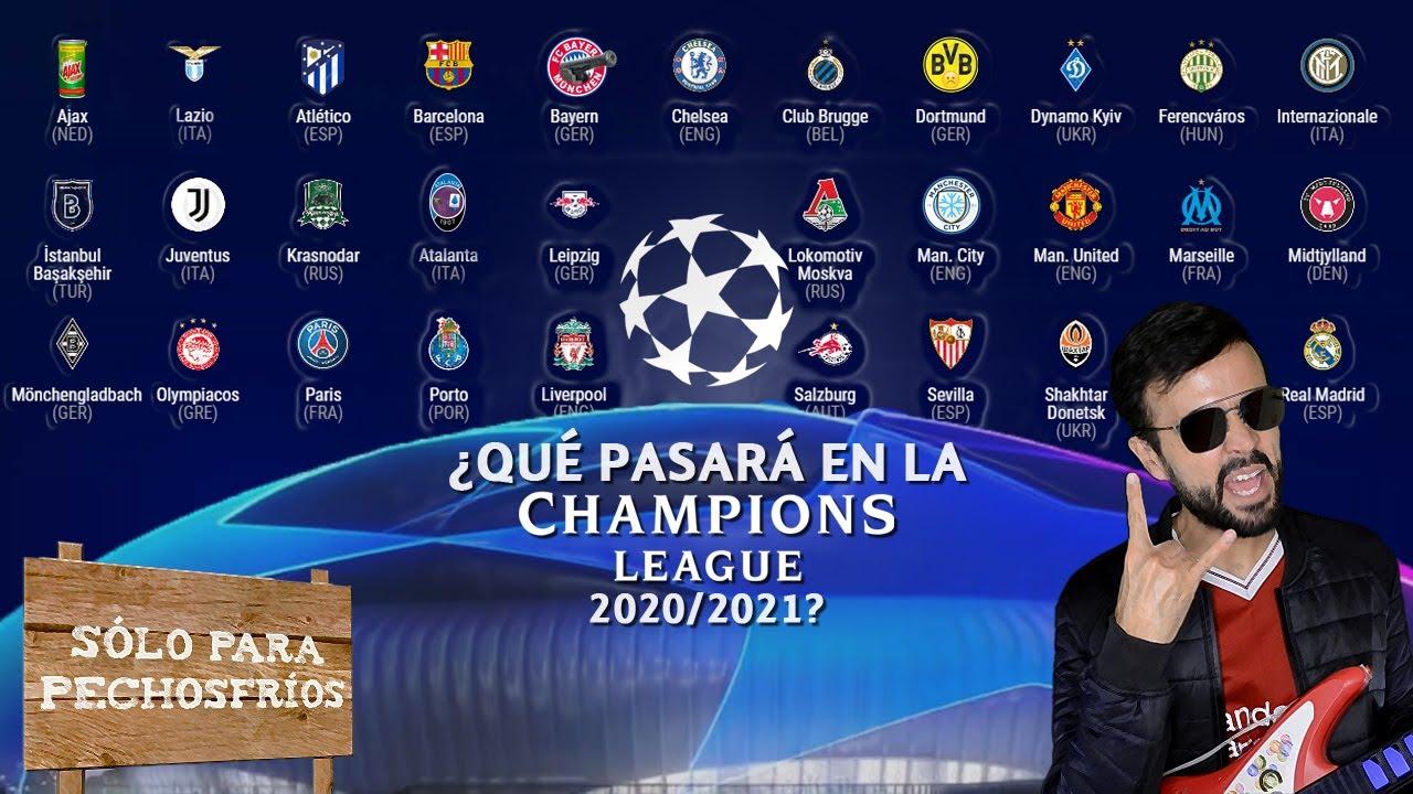 ¿Qué pasará en la Champions League 2020/2021?