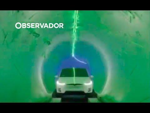 Circular a 240 km por hora: a solução de Elon Musk para o trânsito