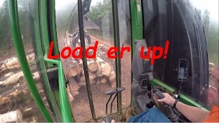 Loading a truck with a track loader and lots of updates!