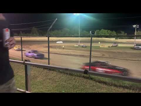 KJ  Bowers first feature @ Creek County Speedway #40