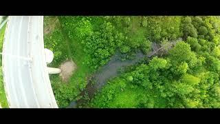 Прыжки с моста. Новая (средняя) дамба. Пермь 2014.
