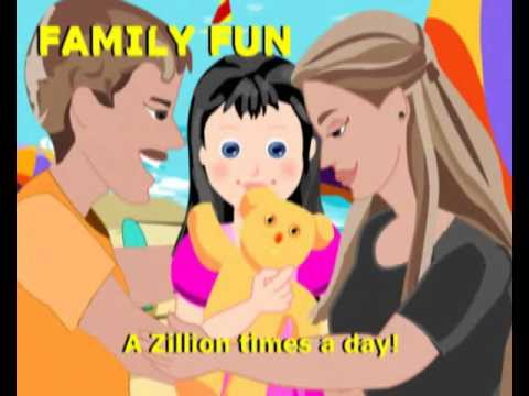 Family Fun Song | With Actions And Lyrics | English Nursery Rhyme Animation For Kids