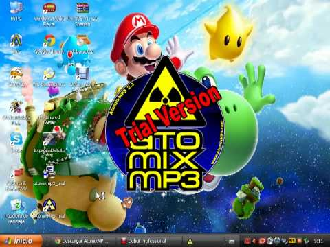 Como descargar atomix trial mp3