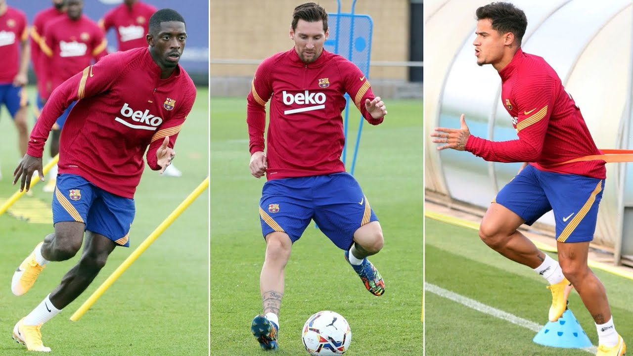 Messi and Coutinho giving Koeman's new-look Barcelona early ...