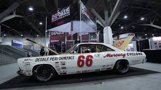 OutRun SEMA SHOW 2016: Beauties and Muscles: Dodge Charger, 'Shomad' Nomad & Goolsby Custom Mustang