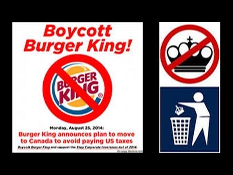 Burger King Boycott? #BoycottBurgerKing *ADULT LANGUAGE | FreakEating Political Comment