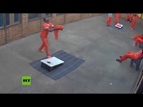Un dron reparte móviles y drogas en una cárcel de Ohio