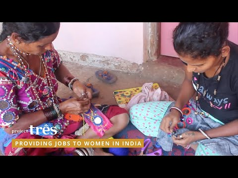 Project Três - providing jobs to women in India
