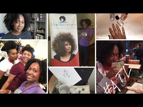 A Vlog | Natural Hair & Beauty Celebration, Hauls, NStyle Unboxing, KBN Coming to Target!