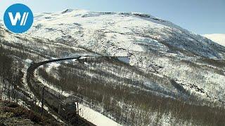 Legende auf Schienen - Skandinaviens Kirunabahn (360° - GEO Reportage)