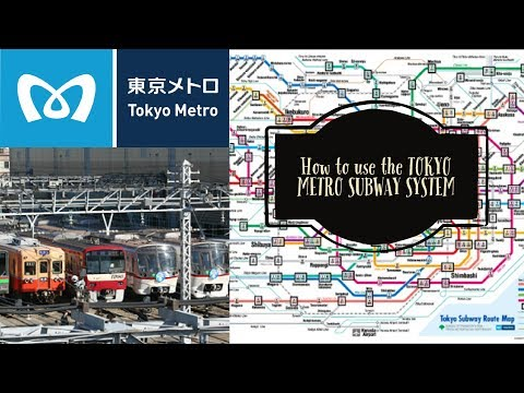 How to USE the TOKYO METRO SUBWAY I TOKYO TRAVELS MADE EASY